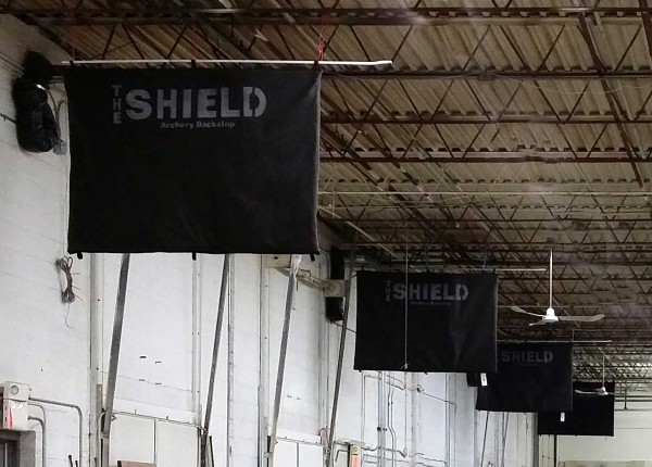 The Shield used  in an Archery Range
